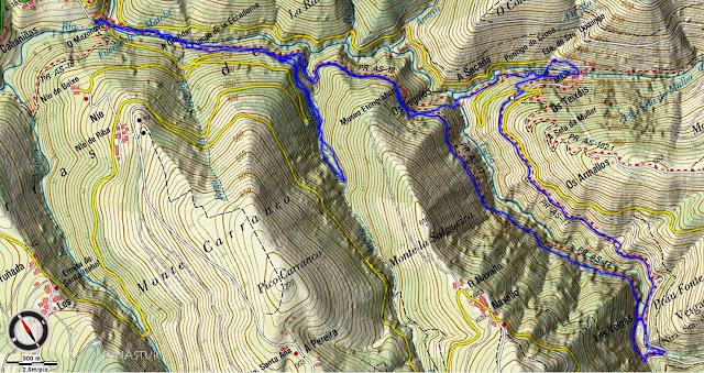 Mapa Ruta del Agua - Asturias