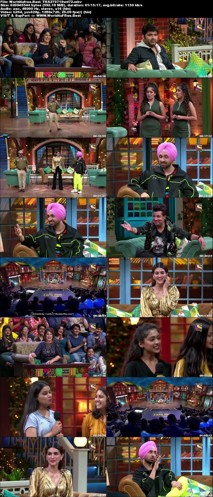 The Kapil Sharma Show S02E61 27 July 2019 720p WEBRip 600Mb