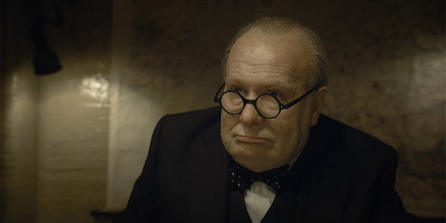 "Gary Oldman, set to finally win an Oscar for ""Darkest Hour"""