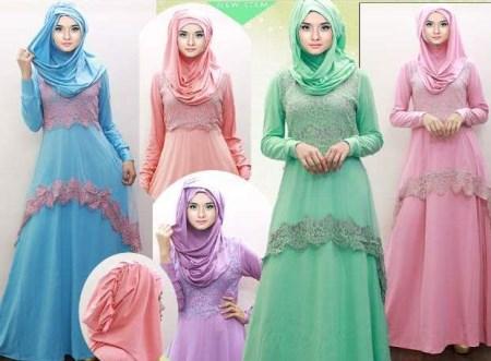 Model gamis terbaru yang syar'i dan cocok untuk remaja muslim