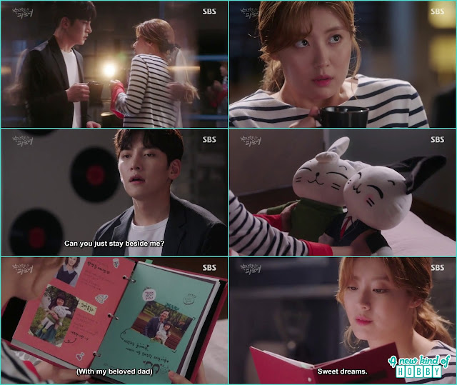 bong hee told she has two fathers - Suspicious Partner: Episode 19 & 20 korean Drama