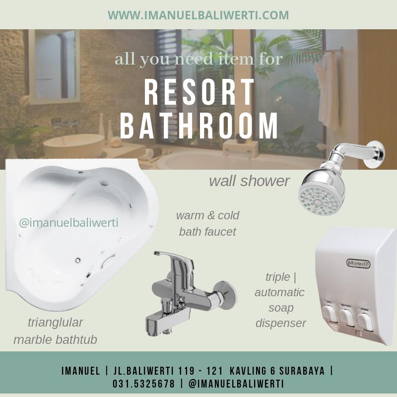 toko ju sanitary kamar mandi bak mandi IMANUEL baliwerti surabaya