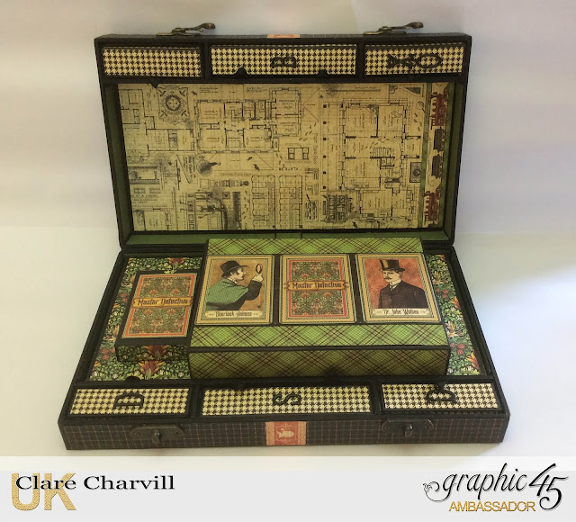 Master Detective Compendium of Games Box Clare Charvill Graphic 45