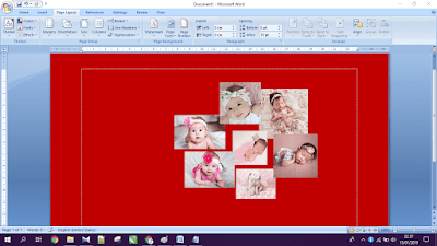 Gambar ilustrasi tampilan halaman microsoft word