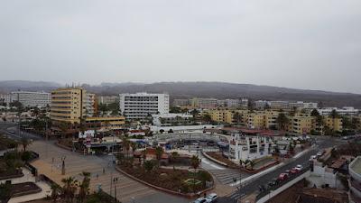 Montagne viste dal mio hotel