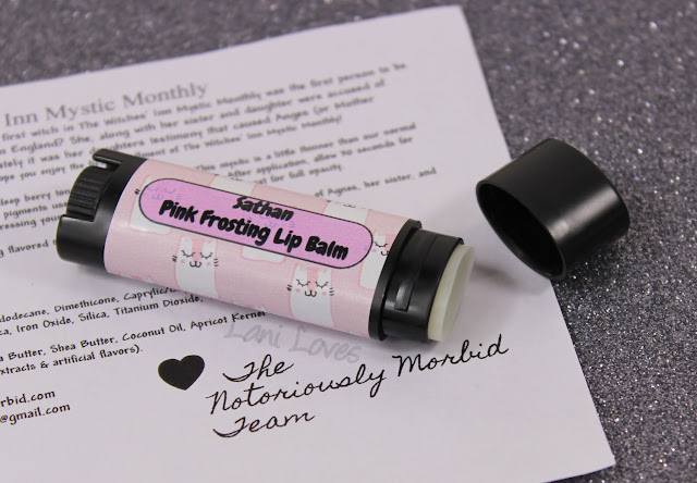 Notoriously Morbid Sathan Pink Frosting Lip Balm Review