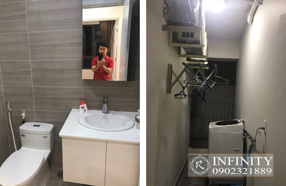 Cho thuê căn hộ Everrich Infinity Quận 5 tầng cao full nội thất - hình 10