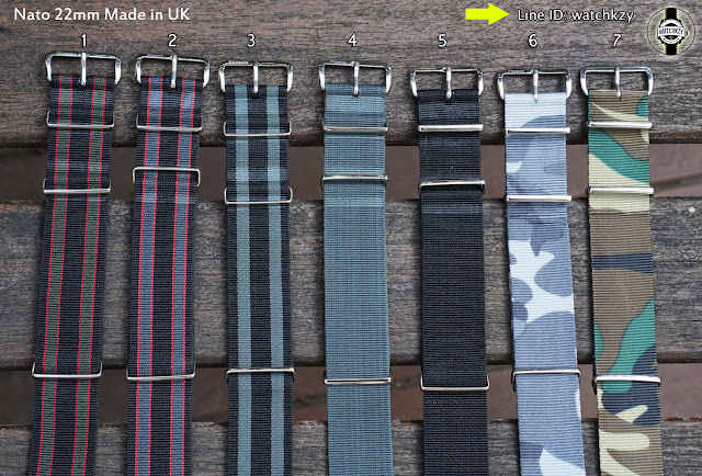 Nato Straps made in UK 22mm