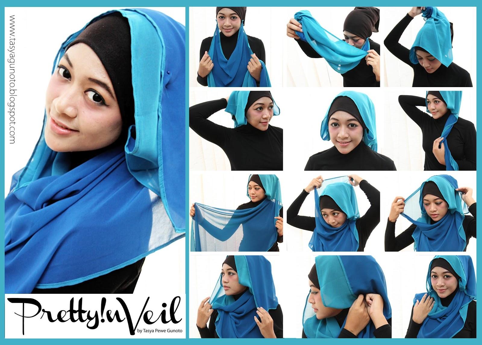 27 Gambar Keren Tutorial Hijab Paris Download Paling Dicari