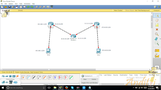[Tutorial Cisco Packet Tracer 09] Konfigurasi Routing EIGRP-anditii.web.id