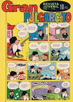 Don Polillo, Gran Pulgarcito nº 24 (27 de julio de 1969)