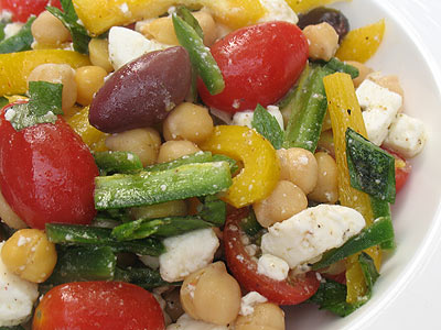 Summer Chickpea Salad