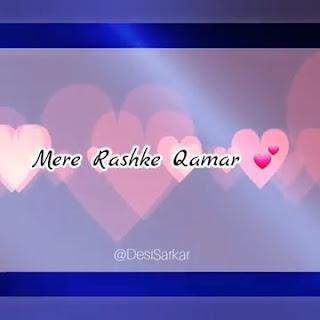 Mere Rashke Qamar Female Version Whatsapp Status Love Video