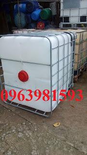 Bán thùng nhựa 1000 lít, thùng hóa chất, bồn đựng hóa chất giá rẻ