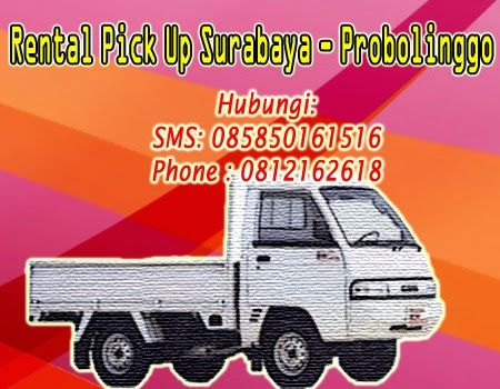 Rental-Sewa Pick Up Zebra Surabaya-Probolinggo