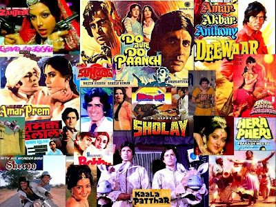 Amitabh Bachchan, Various Films, Collage, Superstar of the Millennium