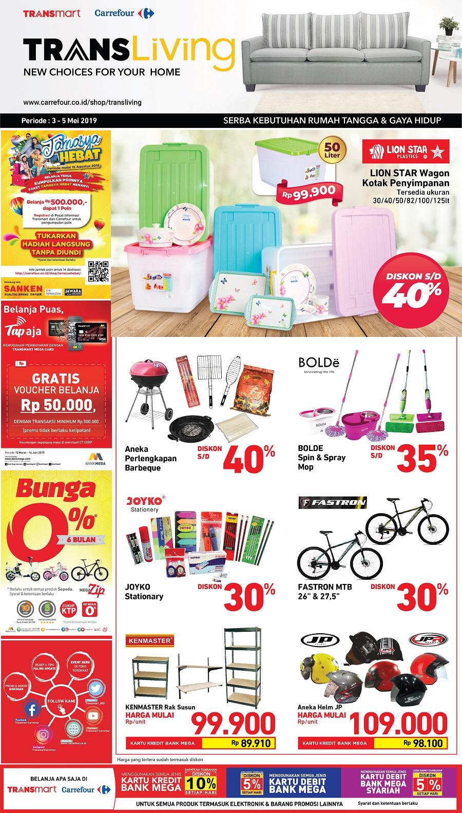 #Transmart #Carrefour - #Promo #Katalog Weekend Periode 03 - 09 Mei 2019
