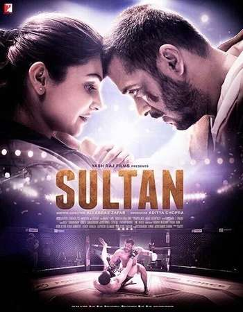 Poster Of Sultan 2016 Hindi  300MB  720p  HEVC Watch Online Free Download Worldfree4u