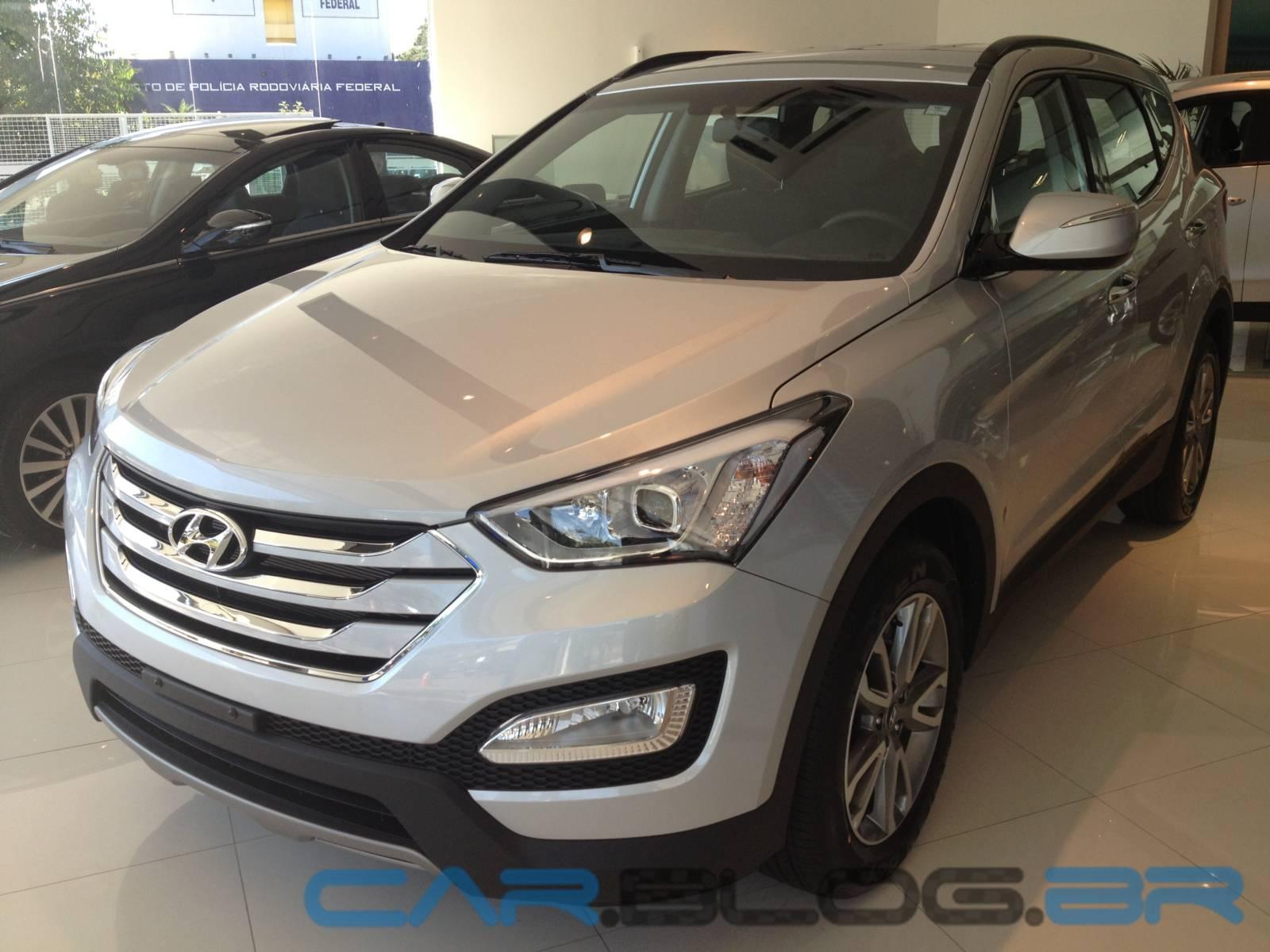 Novo Hyundai Santa Fé 2014   5 Lugares