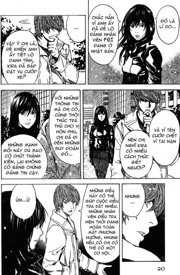 Death Note chapter 012 trang 21