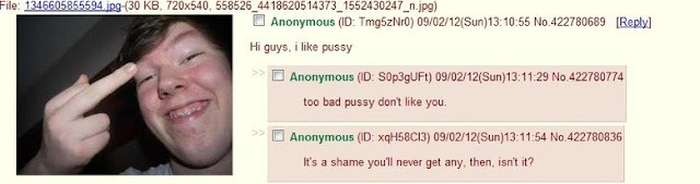 Kids trying to be cool on 4chan always get burned