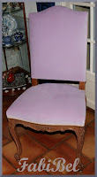 DIY relooking chaise régence