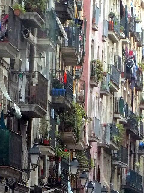 calles del Raval de Barcelona