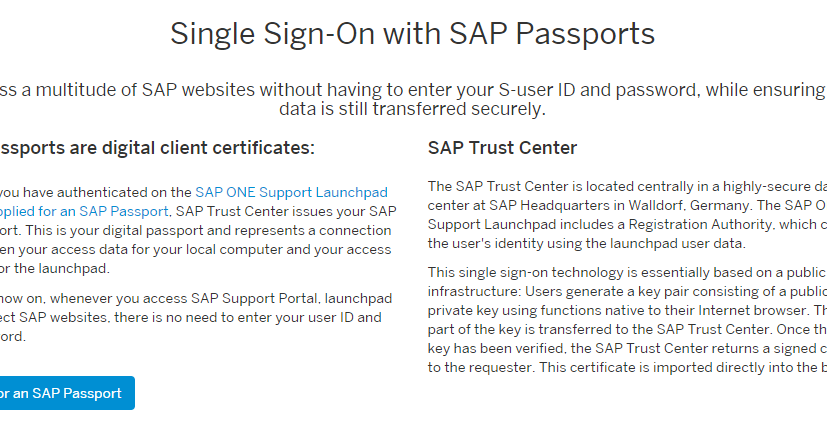 SAP Basis Tutorials: How to configure single sign on with