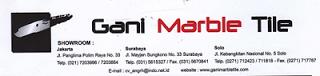 Lowongan Kerja Soloraya - Akunting di Gani Marbel Tile - Surakarta
