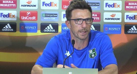 Conferenza stampa Di Francesco Lirola Sassuolo Athletic Bilbao VIDEO