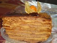 торт, медовик,сладкая выпечка