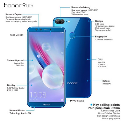 Honor Indonesia honor 9 lite honor smartphone