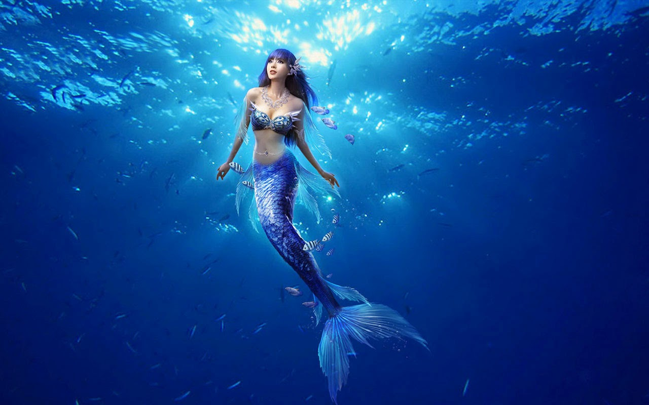 Real Mermaid Wallpaper