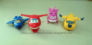 Super Wings - Jett Dizzi Jerome Donnie
