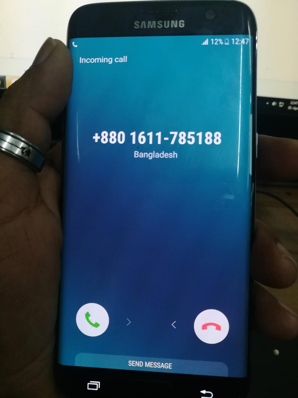 SAMSUNG S7 G935S Emergency Calls Frp No Service Imei
