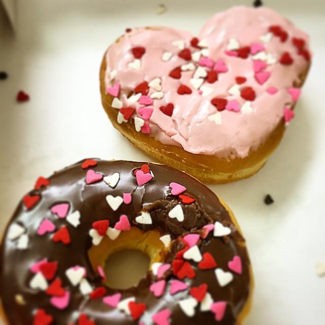 Valentine's Dunkin Donuts