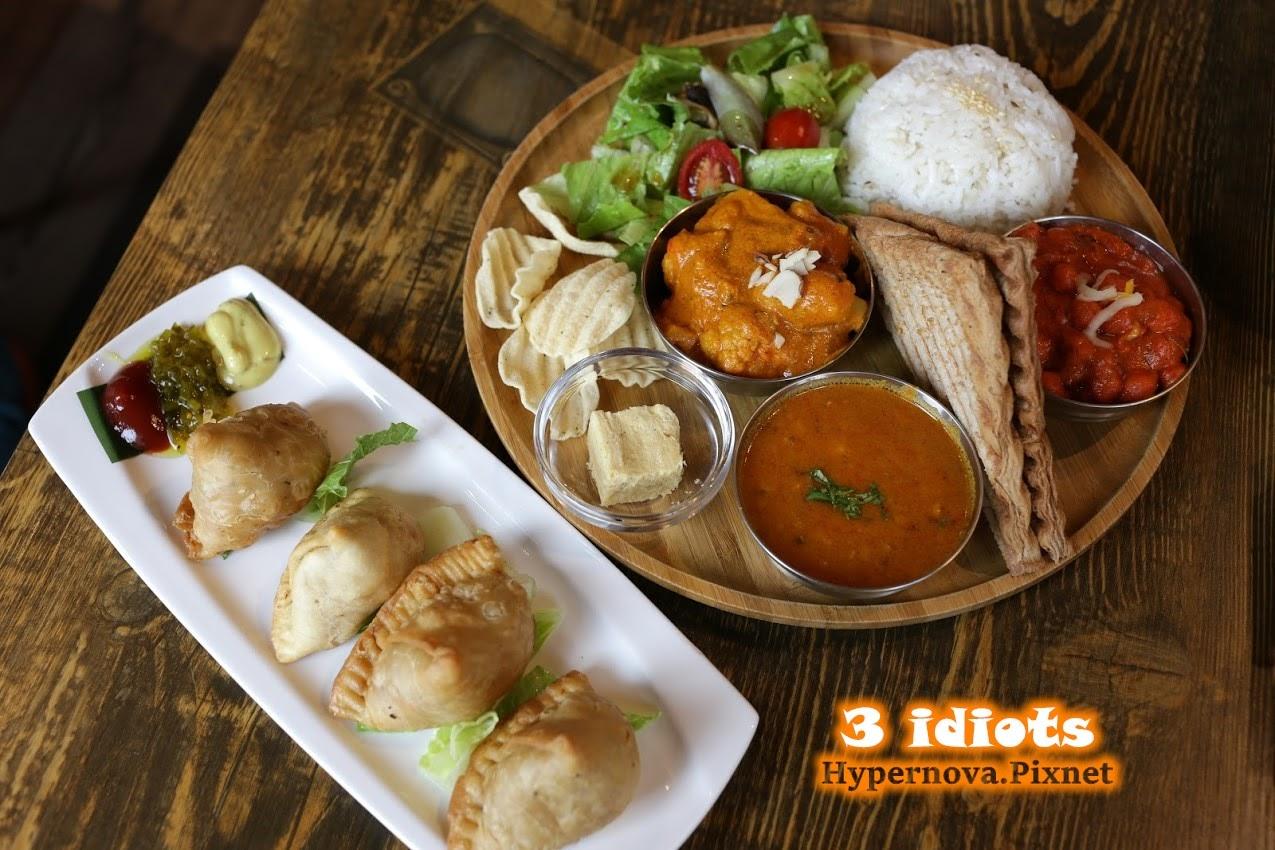 3 idiots 三個傻瓜印度蔬食餐廳/臺北中山 / 印度料理/素食餐廳 @ Hypernova`S Magazine :: 痞客邦