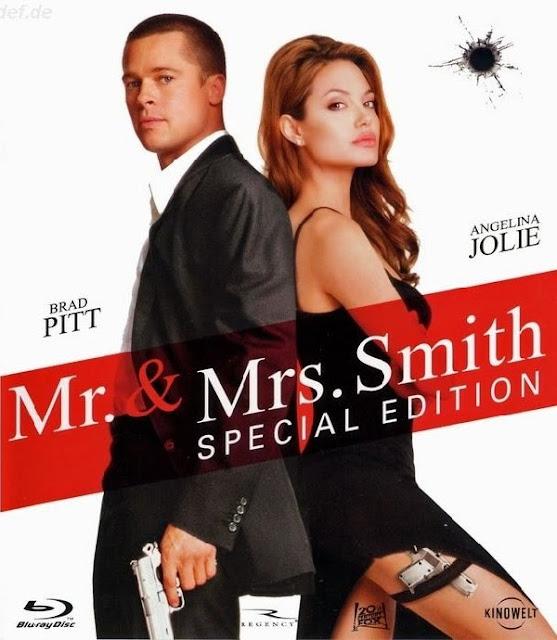 мистер и миссис смит постер на английском что