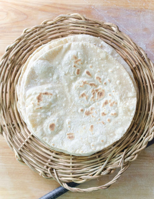 Roti/ Chapathi/ Phulka - How To Make Soft Rotis