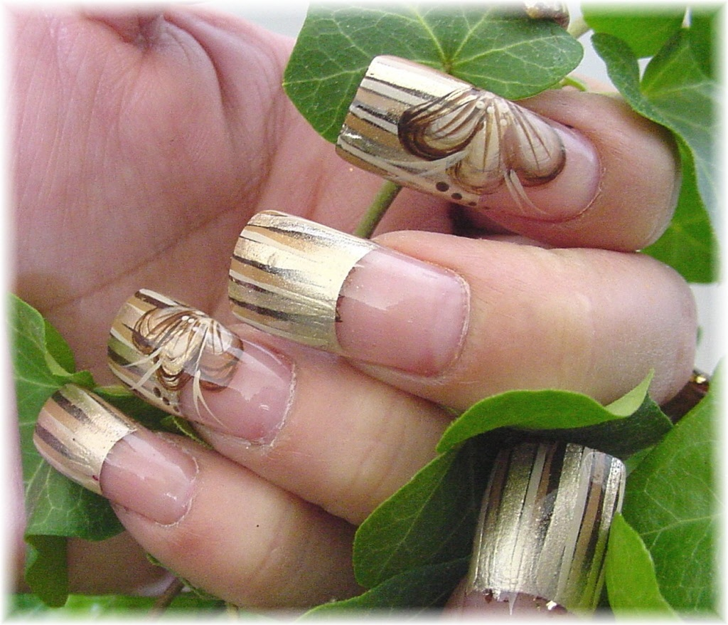 Hand Painted Nail Art Simple: Simple Collections: Nail Styles