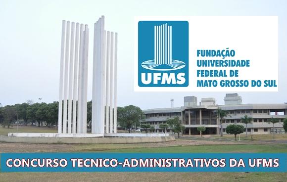 inscrição concurso público ufms 2017