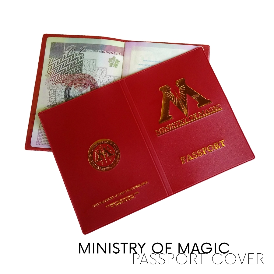 sampul paspor ministry of magic