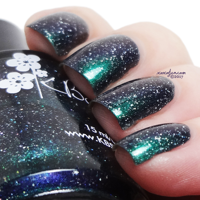 xoxoJen's swatch of KBShimmer Northern Frights
