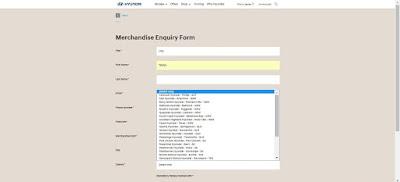 Hyundai merchandise