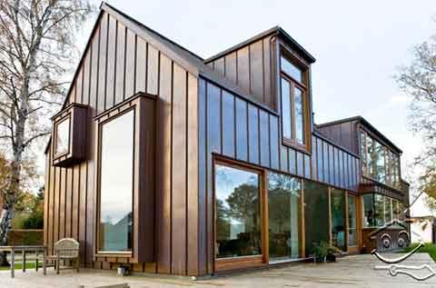 Desain Arsitektur Model Rumah Eropa Foto Gambar Minimalis 03