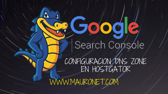 💢 CONFIGURAR GOOGLE SEARCH CONSOLE EN DOMINIO DE HOSTGATOR