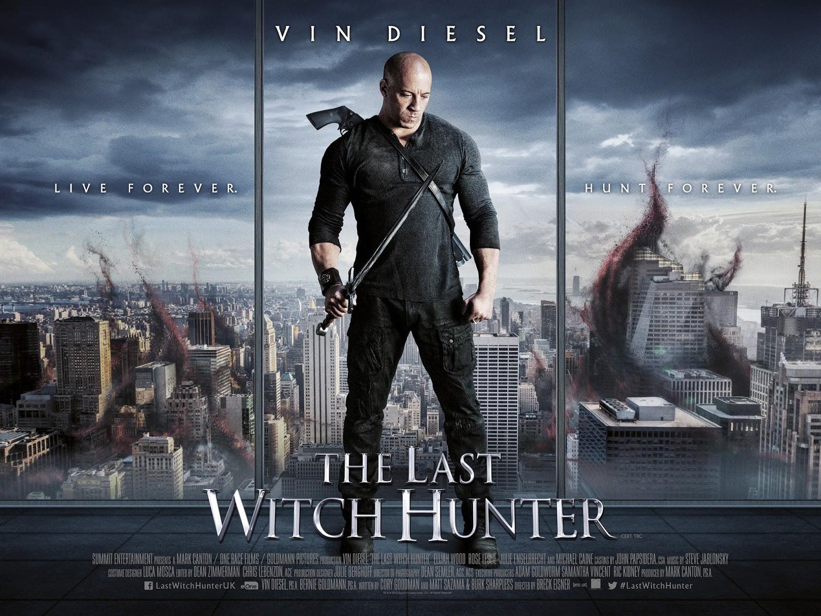 """""""Последний Охотник на Ведьм"""" с Вином Дизелем показывает новый баннер."""