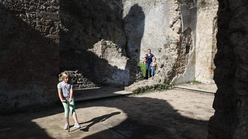 La Cappella del Castello di Monterano