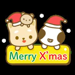 little shiba meow & alien baby Christmas