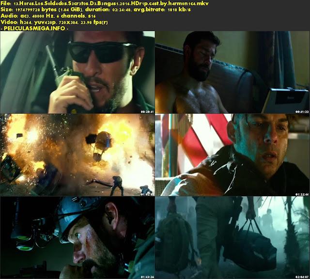 Descargar 13 Horas: Los soldados secretos de Bengasi Castellano por MEGA.